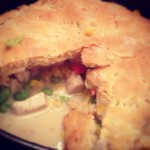 lazy chicken pot pie