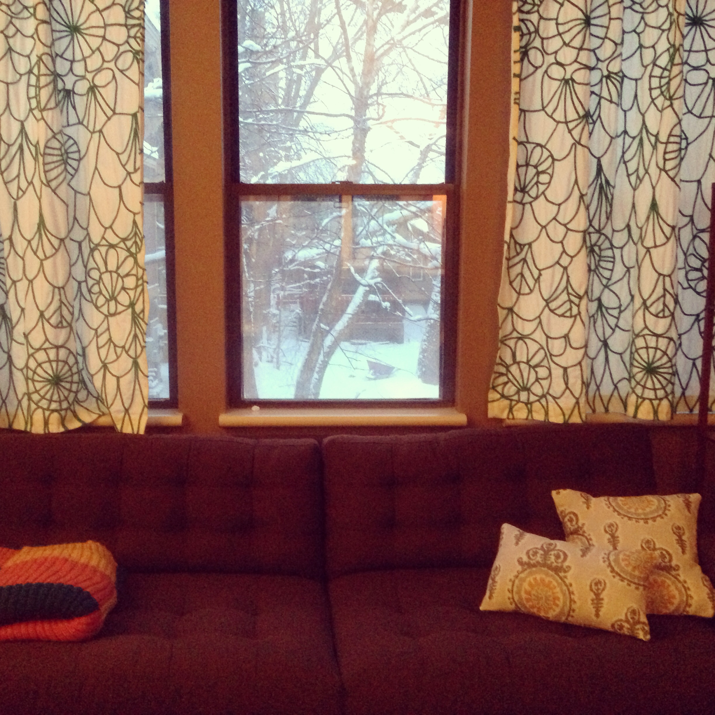 Easy Envelope Pillow Covers Plus Basement Update