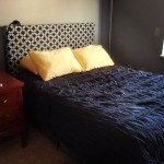 a new upholstered headboard
