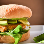 sweet potato, white bean, and tahini burgers