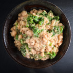Creamy White Beans With Wilted Greens