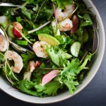 Summer Salad with Shrimp and Dijon Vinagrette