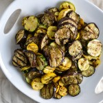 Grilled Eggplant and Zucchini with Za'atar Vinaigrette