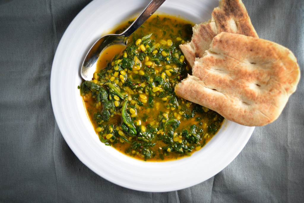 Indian Spinach Lentil Stew and Cooking with Fill My Recipe - Things I ...