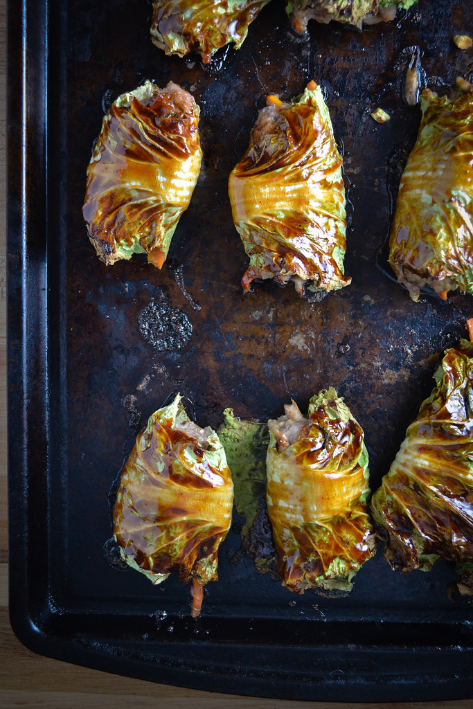 Dealerships Open On Sunday >> Asian-Style Stuffed Cabbage Rolls - Things I Made Today
