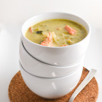 Creamy Salmon and Leek Soup