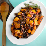 Butternut Squash with Dates and Pancetta
