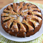 Plum Walnut Cake