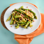 lemon pancetta asparagus and stats from 27