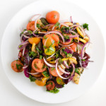 Tomato, Red Onion, and Roasted Lemon Salad