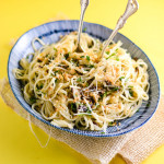 Linguine with Olives and All of the Herbs