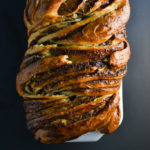 Braided Cardamom Brioche Bread