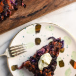 Red Potato and Cabbage Cake